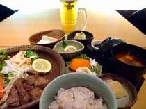 【豪華2食付】 生ビール+銀ゆば定食&朝食バイキング