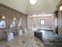 ■大浴場 玄要の湯■洗い場の横にはサウナも完備してございます。
