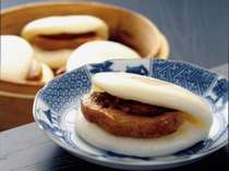 長崎名物『角煮まん』。ぜひ一度食べてください♪
