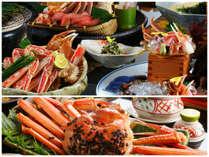 【紅ずわい蟹フルコース】本ズワイ(マツバ)に比べ、身の柔らかい食感と強い甘みが特徴です。