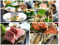 """【春色会席""""曙""""】春色鍋では雪が溶け春が来る様子をお料理で表現します。旬の食材を御堪能ください。"""
