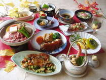 旬の食材はもちろん、昔からこの土地で伝わる郷土料理をご賞味ください(イメージ)
