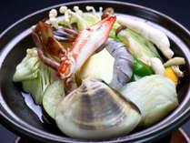 磯コースの鍋♪様々な海鮮をご賞味下さい♪