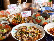 春夏秋冬様々な素材が入る佐賀県だからこそできる前菜ビュッフェ
