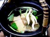 【美味しい秋を召し上がれ】季節の恵みを堪能!【松茸土瓶蒸し】&【松茸茶碗蒸し】&【特製松茸釜飯】