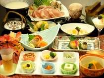 宮城県産志波姫豚の豆乳しゃぶしゃぶ写真は一例です。プランによって内容が異なります)