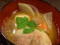 朝食では木村屋名物「いも煮」も味わえるよ♪