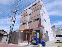 *【外観】2017年にOPEN☆綺麗な建物です。