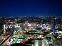 横浜市内はおろか首都圏一円までも眺望可能(写真はイメージです。実際の眺望と異なる場合がございます。)