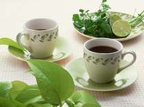 【宿泊特典】コーヒー付きプランの特典イメージです。