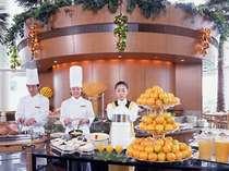 レストラン「カフェトスカ」での朝食ブッフェ