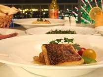 天草近海 鮮魚のポワレ レモンバターソース