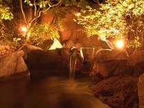 山代でも名泉といわれる1号泉の湯。上質のお湯を感じてください。