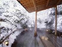 北陸ならでは雪見露天風呂。≪殿方用≫