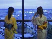 宝石みたいな景色を眺めて楽しい語らいを♪お部屋からの眺望一例
