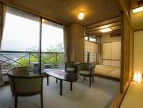 最上階から煌き眺望【菊祥12.5+4.5畳+広縁】 客室の一例