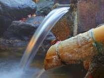 湯の華咲く天然温泉100%!様々な効能があると言われております。
