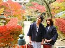 【薬王院温泉寺】山代温泉の開湯伝説にも縁が深く秋には紅葉も綺麗です
