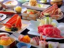 【秋冬デラックス会席】◆≪3種の蟹料理・和牛しゃぶ・お刺身5点盛≫あれもこれも欲張る幸せ/お部屋食