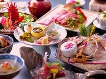 【萬松閣の祝い膳】★お客様の大切なお祝いの日を華やかに彩る「小鯛の姿焼き付き」お料理イメージ
