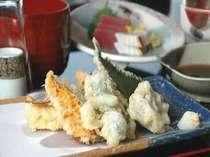 あげたての天ぷらをどうぞ♪