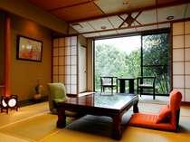 ◆はぎの間◆ごゆっくりお過ごしいただける数奇屋造りの客室となっております。