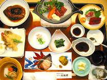 1泊夕食付◆会津の味覚×源泉かけ流し露天&貸切風呂