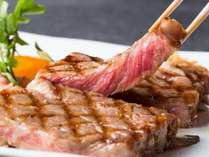 但馬玄のロースステーキは脂の甘さ肉のやわらかさがたまりません!