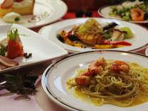 地元食材を使用するオーベルジュ アクアサンタホテル