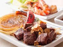ホテルから徒歩2分。地元の名店・ぐりるエイトで淡路牛や新鮮魚介の鉄板焼ディナーを堪能≪料理イメージ≫