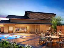 琴の庭の象徴である木造2F建ての離れ「ときみ邸」