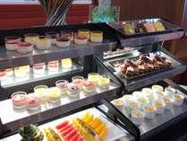 デザートコーナー【朝食バイキング】