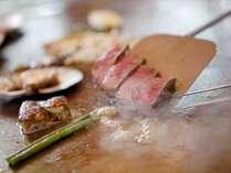 牛フィレステーキ鉄板焼き