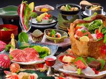 ボリューム少なめ品質重視の美食御膳