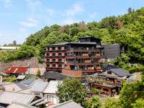【全景(昼)】「日本三景」安芸宮島の高台の位置する温宿