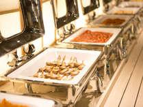 【朝食ビュッフェ】和洋の人気のメニューをご用意♪