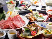 【基本プラン】飛騨牛ごま鍋&飛騨産旬菜を伝統懐石でご堪能♪