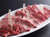 """【ぎふ旅】【希少部位】""""飛騨牛""""の『希少部位』を""""どど~~んっと!200g!""""どれを食べても大満足♪"""