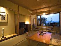 【富士見台/露天風呂付和室】和の温もりの感じられる空間
