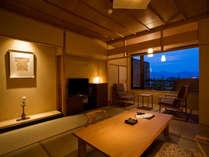 【富士見台/専有露天風呂付和室】室内の一例
