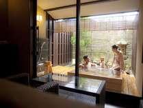 貸切露天風呂「貫一」ふたりっきりで温泉を楽しむ
