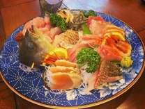 お刺身の盛り合わせプランは、芦原人気No. 1!新鮮な海の幸をお楽しみください(^^)♪