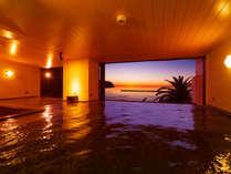 2F 大浴場        「海の見える大浴場」