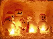【冬グルメあったか寄せ鍋】で身体の芯から温まろう♪【雪だるままつり】で幻想的な白峰の冬を満喫!