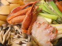 蟹と茸の白山鍋