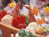 刺身舟盛りの料理例(4人前)