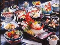 「伊勢海老」コースの料理例