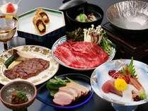 四季彩肉中心コースの一例※画像はイメージです