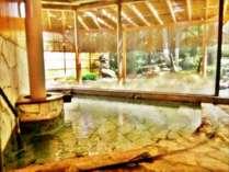 大浴場【徳足姫の湯】内風呂の温度は40~41度になっております