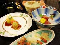 標準コース≪四季彩【春~秋】≫~とっとりの食材を色々♪~